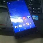 Sony Xperia Z3 leak 1
