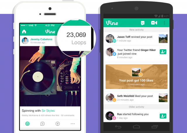 Vine loops update