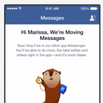facebook moving messages to messenger