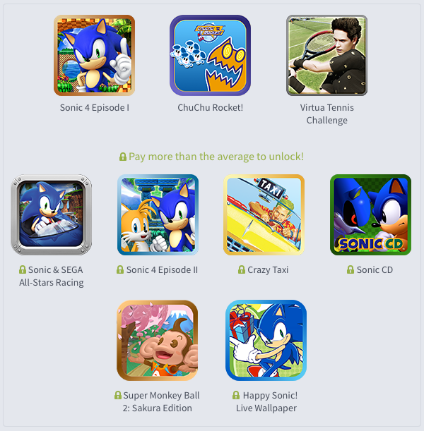 Humble Sega Mobile Bundle