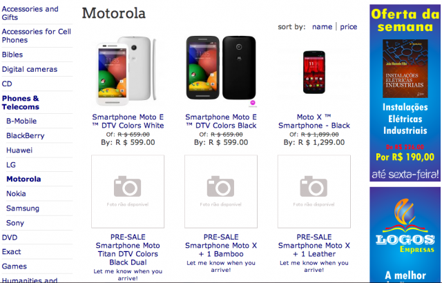 Lavaria Logos Bookstore Moto X Plus 1 G2 listings