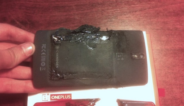 OnePlus One explodes 2