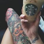 Tumblr Starbucks Millenial hipster