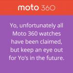 Yo for Motorola portrait
