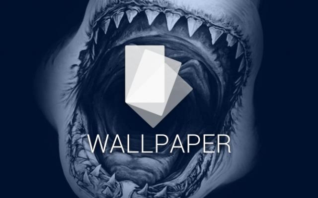 android wallpaper sharks