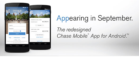 chase app update