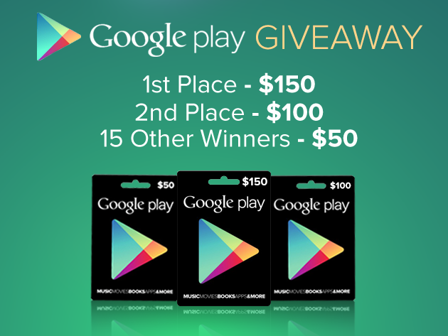 google-play-giveaway