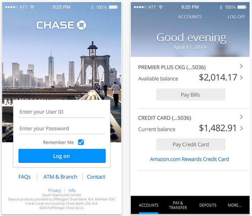 Chase bank to update android app with ios like redesign this september