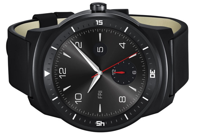 Official LG G Watch R pictures emerge