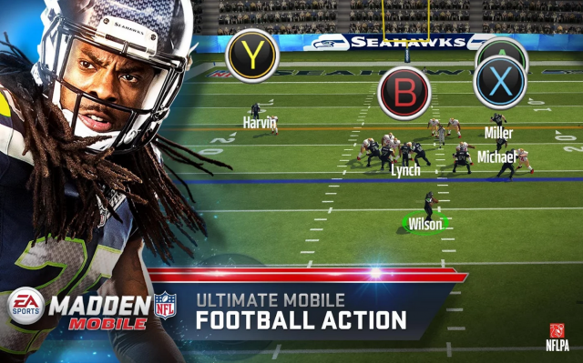 madden nfl mobile controls