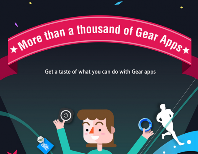 samsung gear apps