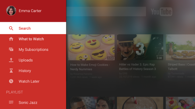 youtube for tv