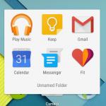 Android 5.0 Lollipop Screenshot