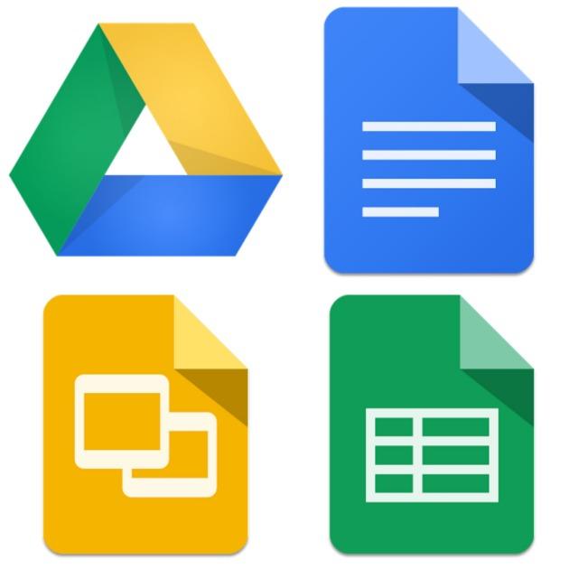 Google Drive Docs Slides Sheets Material update