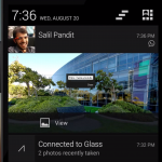 Google Glass Notification Sync