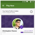 Google Play Games Material Design update