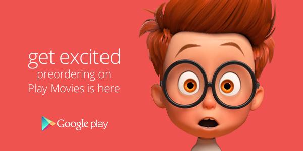 Google Play Movies Preorder