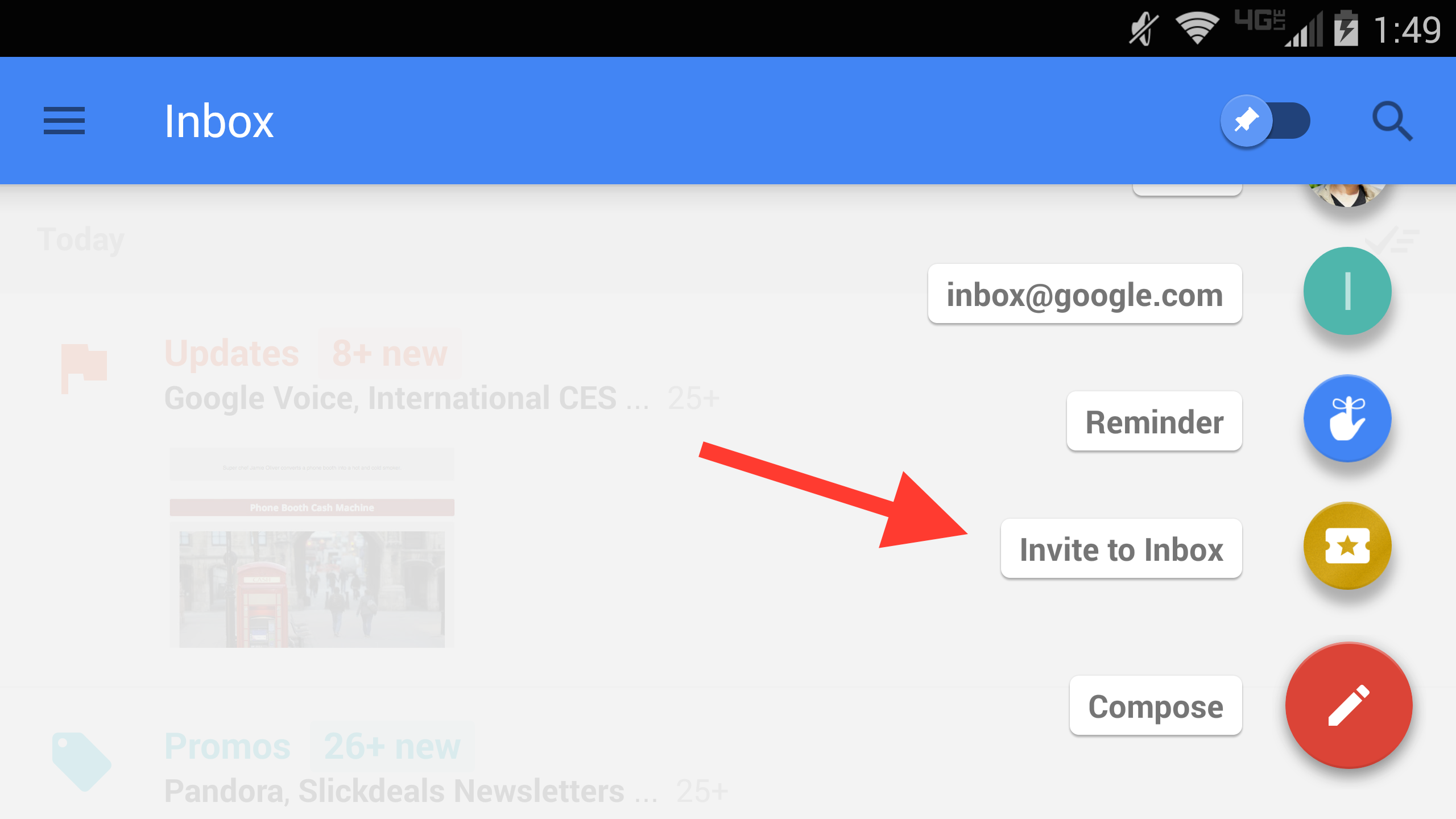how to create an evite on gmail