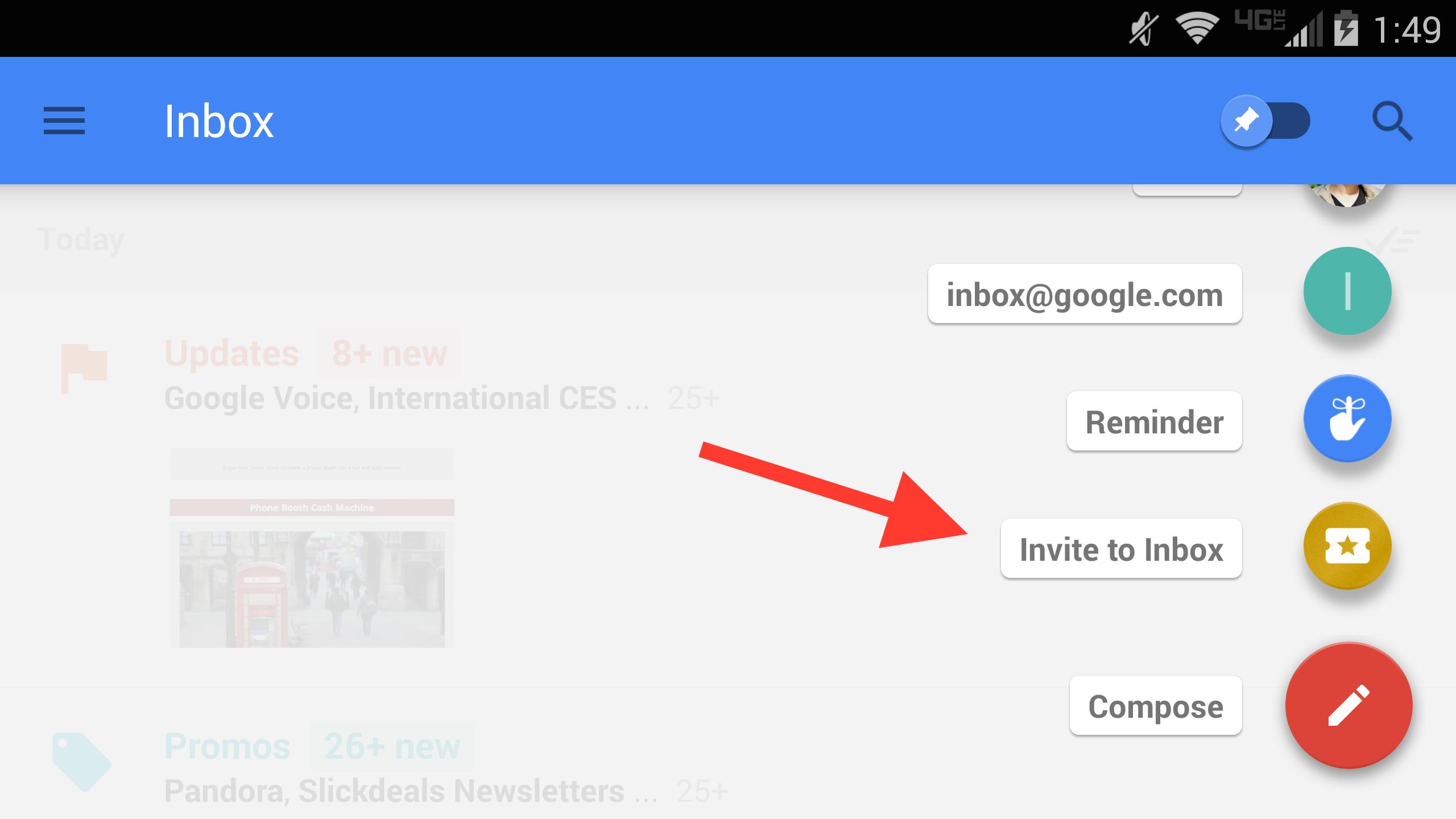 Gmail Send Invite as good invitation template
