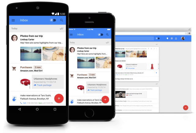 Inbox by Gmail promo hero