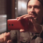 James Franco Motorola Droid Turbo