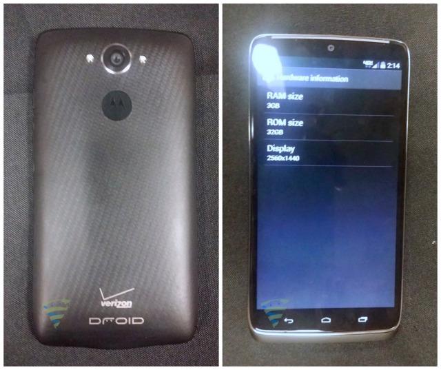 Motorola DROID Turbo AndroidSpin leak
