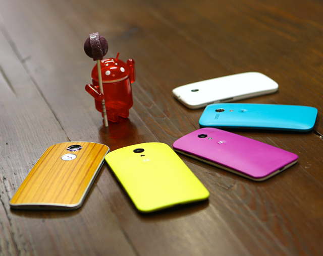 Motorola Moto X G E Android 5.0 Lollipop