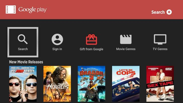 Roku Google Play Movies TV