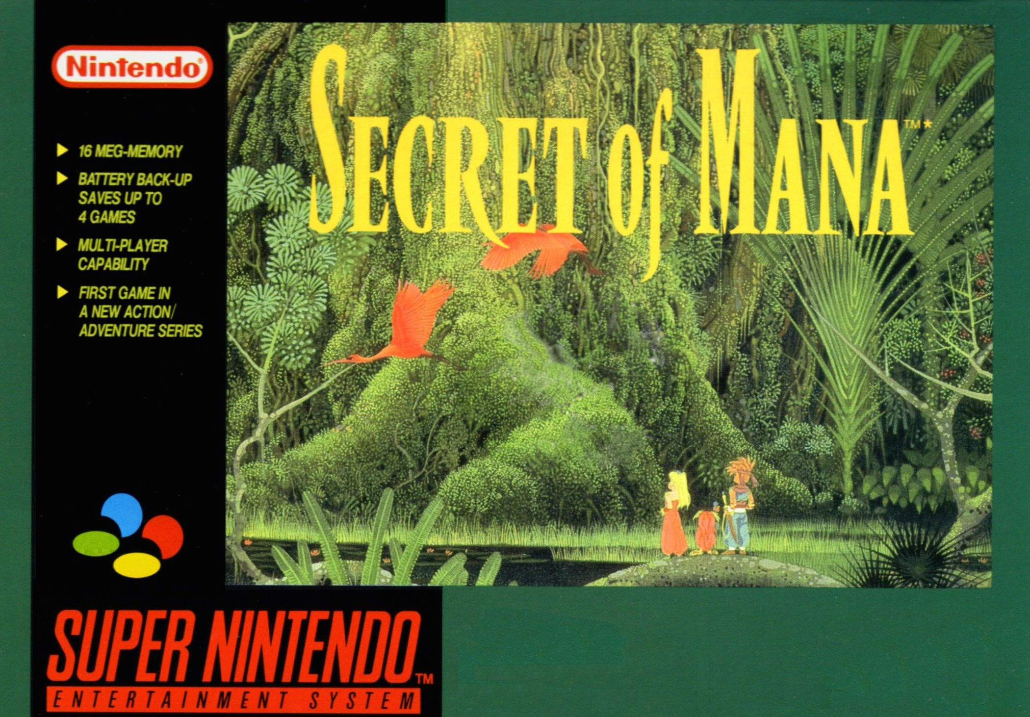 Snes Classic Secret Of Mana Now Available For Android