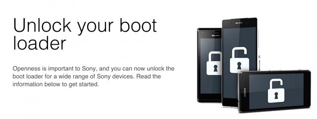Sony Developer World Bootloader Unlock page