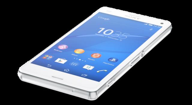 Sony Xperia Z3 Compact angle
