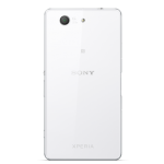Sony Xperia Z3 Compact white back