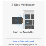 google u2f security key