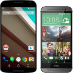 Nexus 6 vs HTC One M8