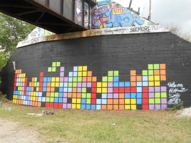 tetris-graffiti