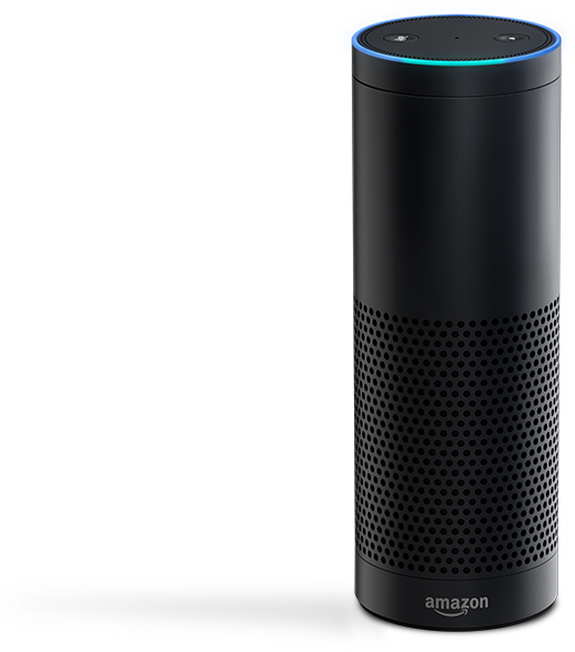 amazon echo is an always listening 39 smart 39 bluetooth. Black Bedroom Furniture Sets. Home Design Ideas