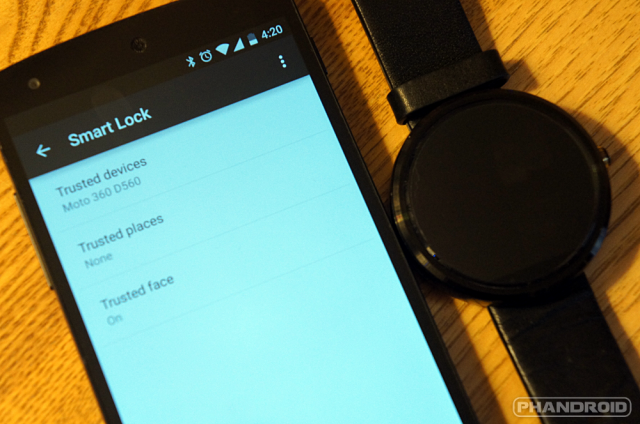 Lollipop smart lock