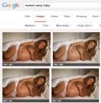 Mariah Carey sleeping after Chipotle