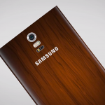Samsung Galaxy Note 4 concept wood