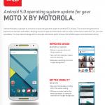 Verizon Moto X 2014 Android 5.0 Lollipop update