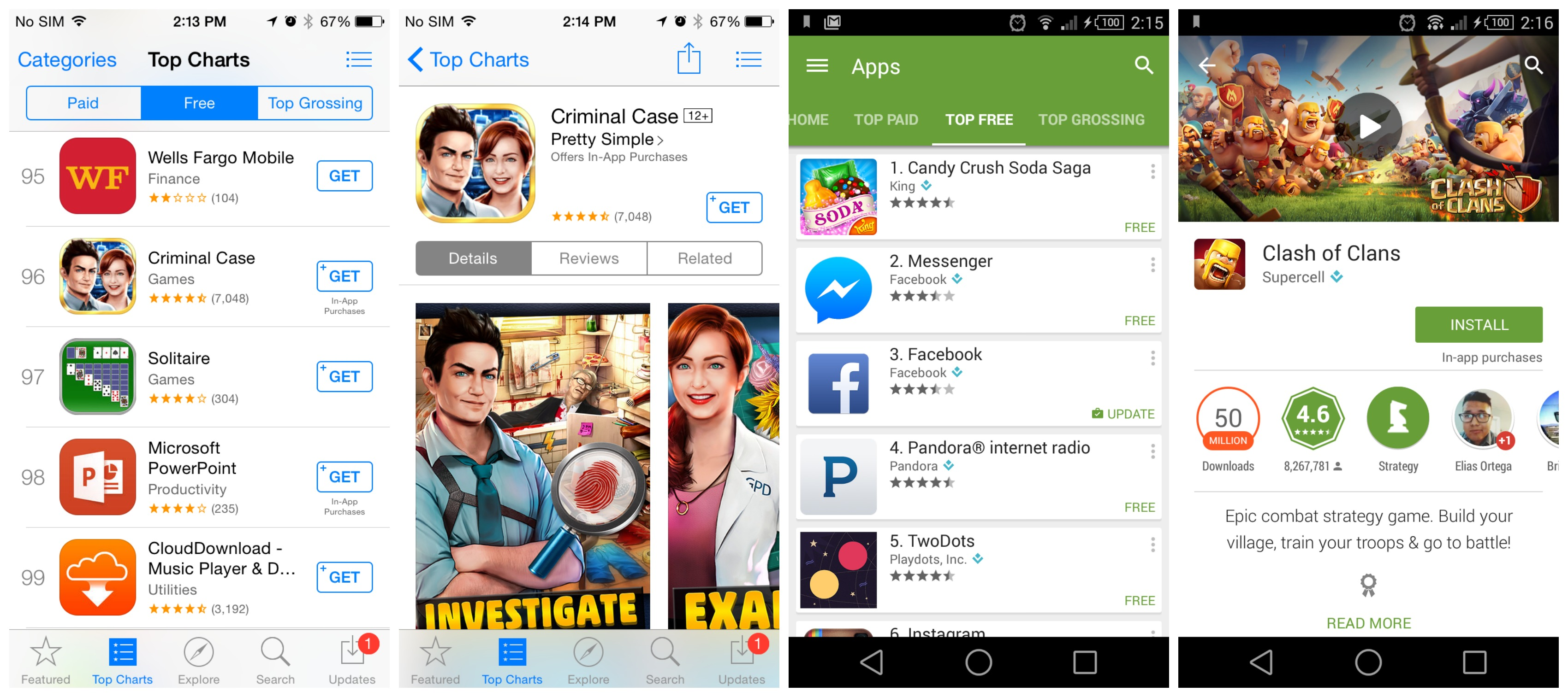 how to get free games from app store android