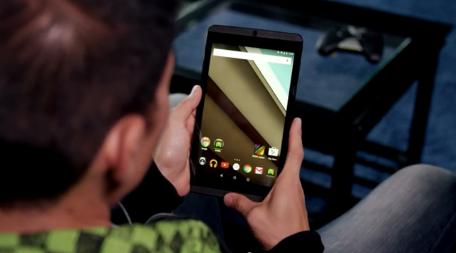 nvidia shield tablet lollipop tease