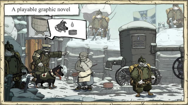 valiant hearts in-game