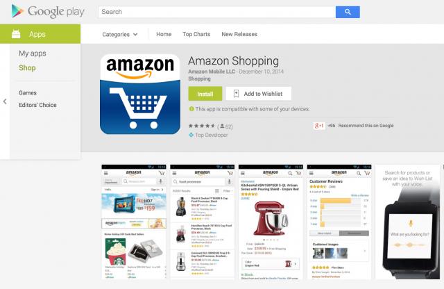 Amazon Shopping on Google Play