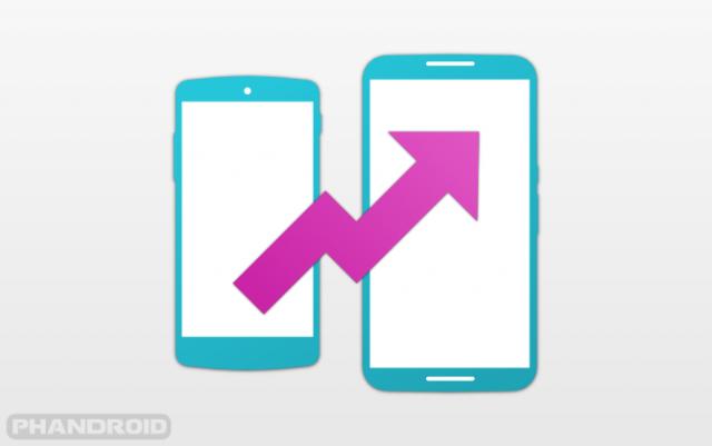 Nexus 5 Nexus 6 upgrade