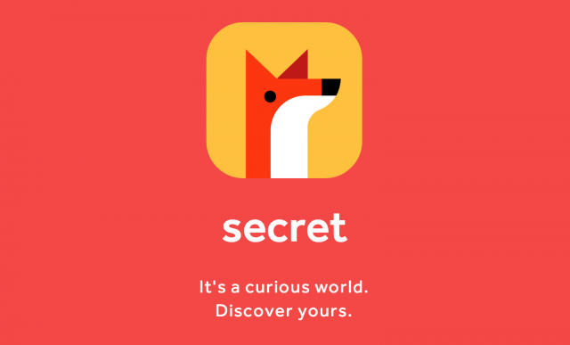 The new Secret app