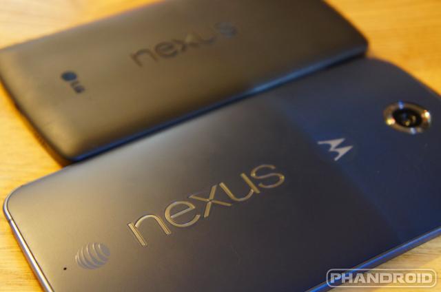 nexus 6 nexus 5 3