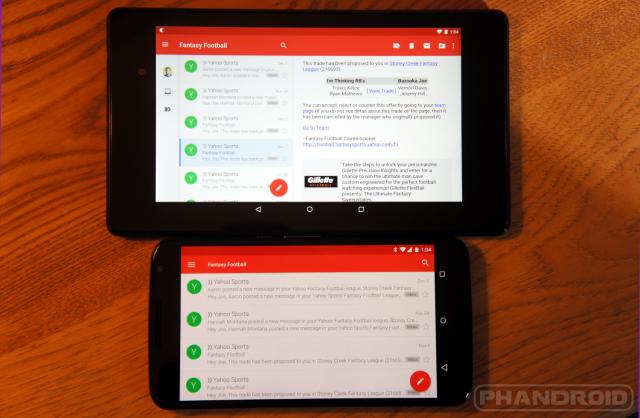 nexus 6 tablet UI