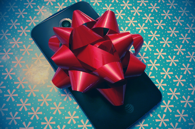 phone bow