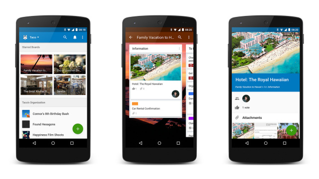 trello material design update 2